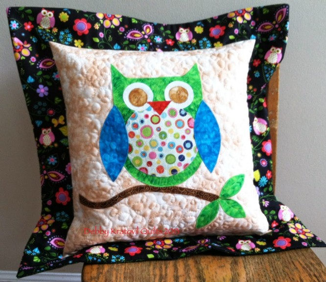 Simple Owl shaped patchwork design DIY Cushion Patchwork Cushion Designs to Decorate Your Home