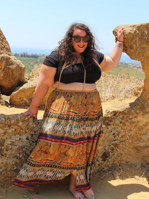 peasant-style-maxi-skirt Learn To Wear Maxi Dresses And Midis When You Are Plus Size