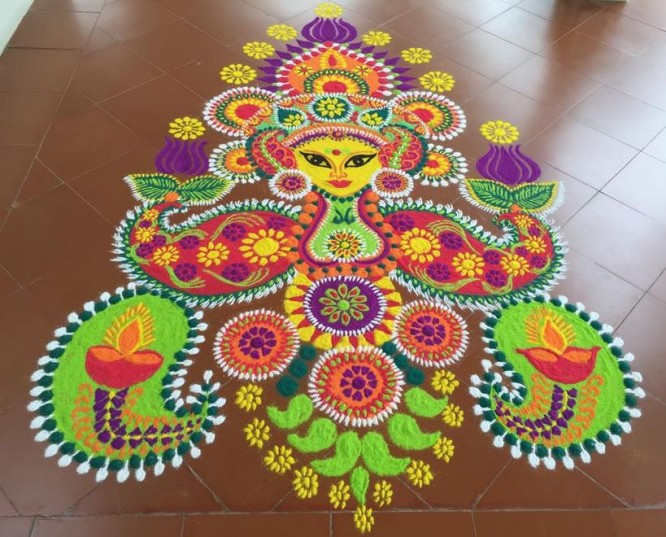 rangoli-Beautiful Rangoli Ideas for Diwali