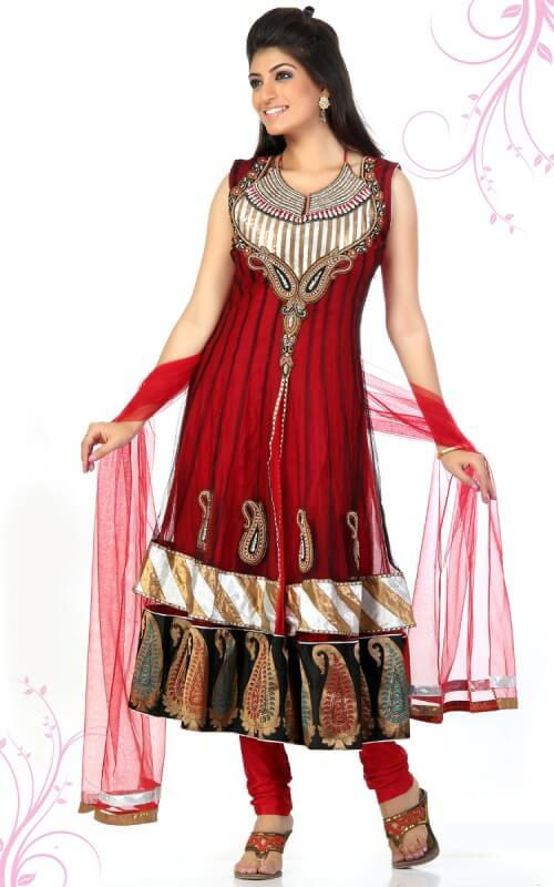 Enchanting Indian Wedding Dress for Women Salwar Kameez Suits: Traditional Dresses for Indian & Pakistani Women to Look Awesome