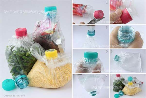 Sealed Plastic Bags from Plastic Bottles How to make things from plastic bottles