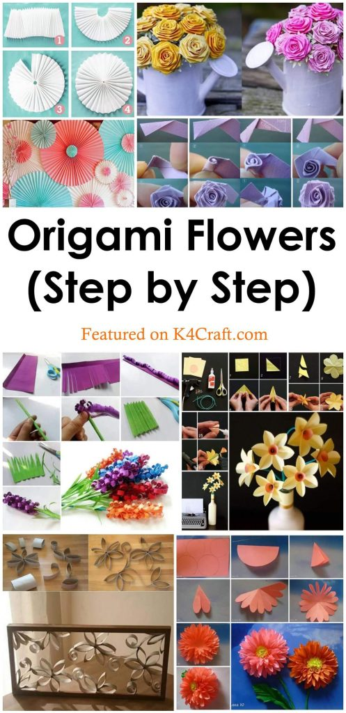 Make an Easy Origami Lily Flower | 1024x497