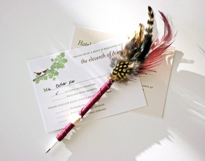 feather-pens-HOW TO MAKE 'PEN QUILL' (FEATHER PENS)