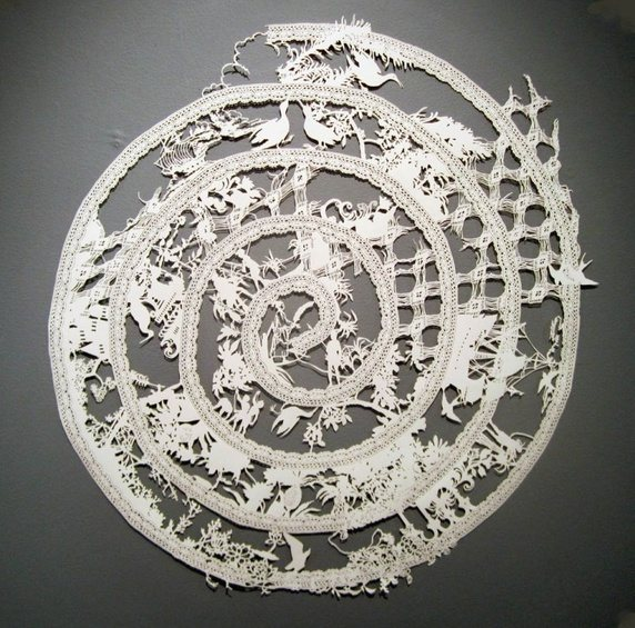 Amazing Paper Art and Paper Craft by Emma Van Leest