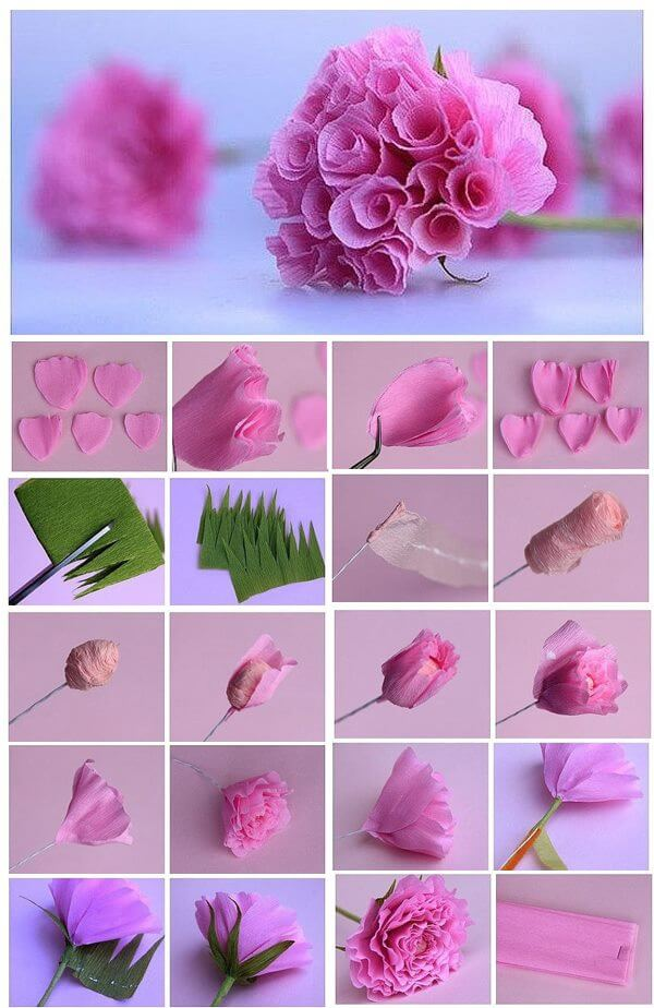 How to make Origami Flowers | Projects of Hanna Zoon | 924x600