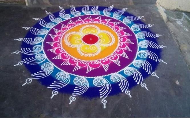 rangoli-Beautiful Rangoli Ideas for Diwali