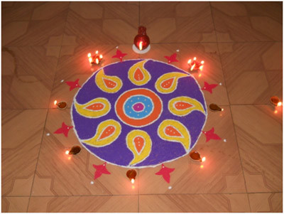 rangoli-designs-for-new-year Beautiful Rangoli Ideas for Diwali