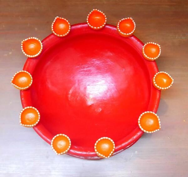 raw-material Diya Decoration for Diwali