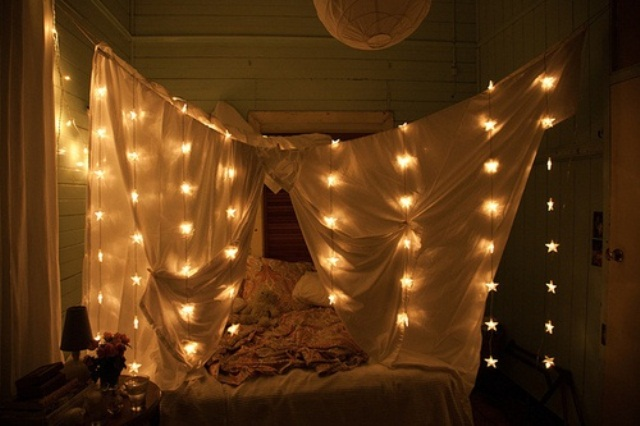 Lights in the darkness DIY Wall Hanging Ideas to Decorate Your Home