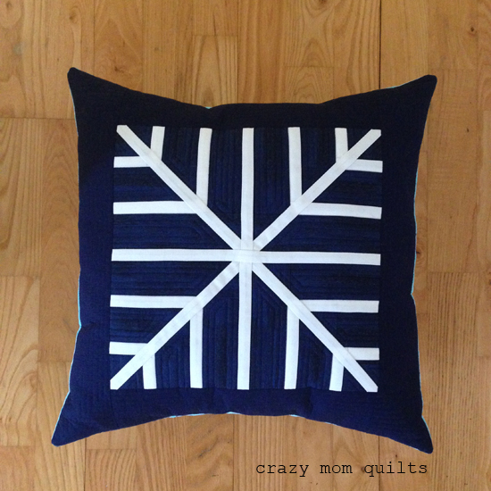 Snowflake Pillow Design Patchwork Cushion Designs to Decorate Your Home