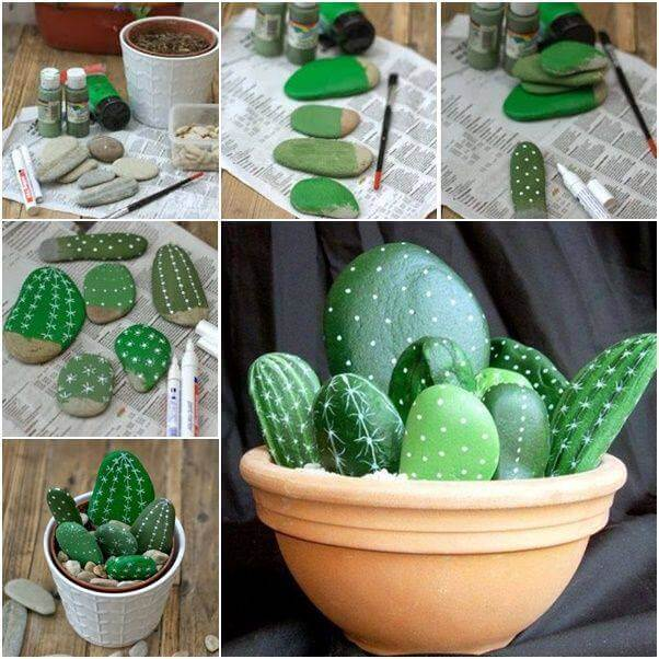 Cacti Decorative Stones