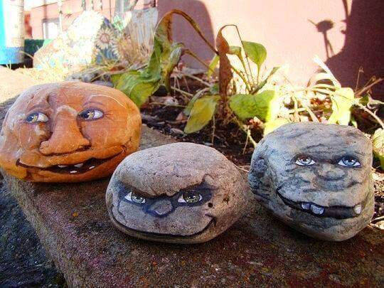 Halloween Decorative Stones Decorative Stones & Gravel, Paint Craft Ideas