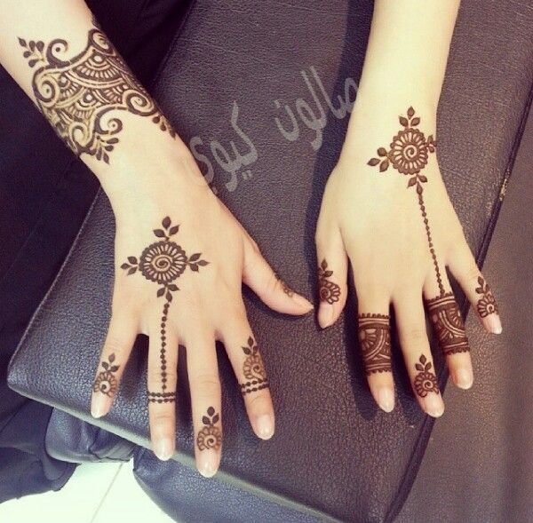 uber-cool-mehndi-designs-for-navratri-Celebrate Navratri With Mehendi Designs