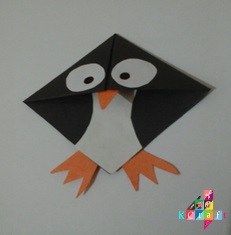 Penguin Bookmarks Learn To Make Cute Penguin Bookmarks
