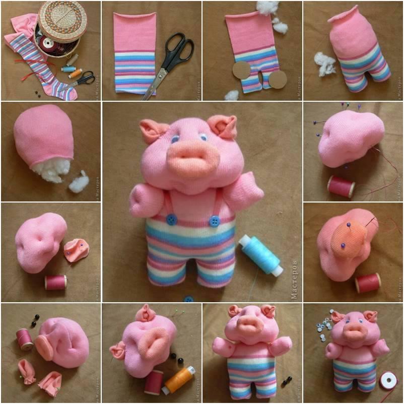 Cute Pink Piggy for Kids Cute Craft Step by Step Tutorials