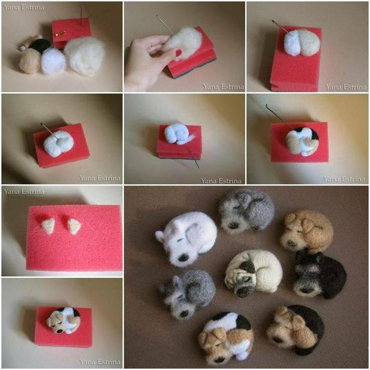 Cute puppy craft idea Cute Craft Step by Step Tutorials
