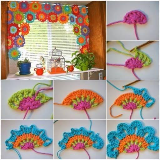 Crochet Window Decoration Step by Step Crochet Patterns Tutorials