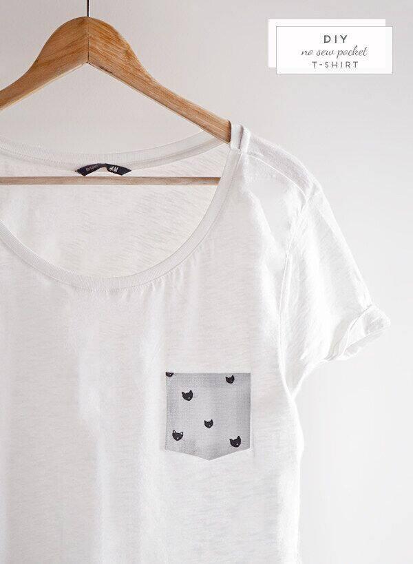 Clothing-Hacks Simple No Sew DIY Clothing Hacks, Designs And Tutorial