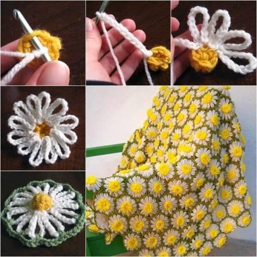 Crochet Vintage Motif Step by Step Step by Step Crochet Patterns Tutorials