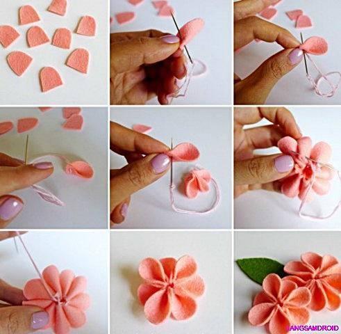 Paper Craft Flower Cute Craft Step by Step Tutorials