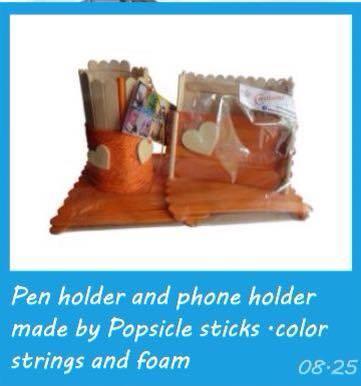 Amazing Popsicle Stick Decoration Ideas