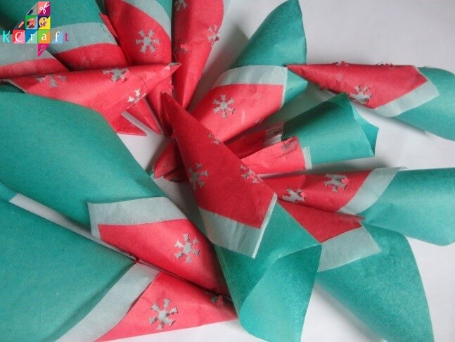 christmas-decorations Christmas Decoration With Paper Crafting Ornaments (Tutorial)