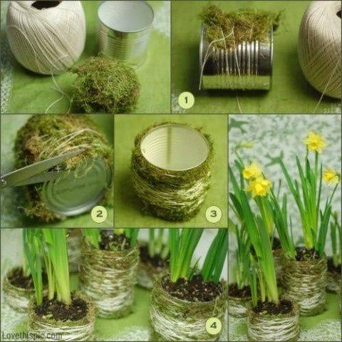 Recycled Tin can- Craft Tutorial Beautiful & Simple DIY Home Decoration Step by Step Tutorials