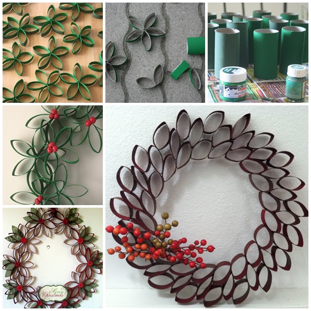 DIY Paper Rolled Christmas Decoration tutorial Recycle Wooden Pallets With Awesome Furniture Designs