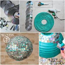 Glitter Disco Ball- Craft Tutorial Beautiful & Simple DIY Home Decoration Step by Step Tutorials