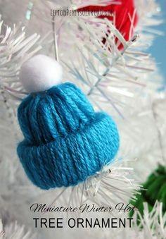 ranjana-rajan Step by Step Tutorial for Making Winter Yarn Miniature Hats