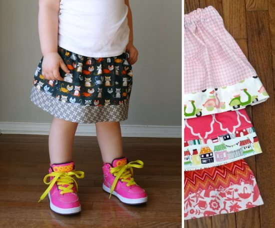 Sewing skirts Quick Tutorials of Sewing Skirts For Girls