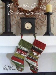 Scrappy Christmas Stocking Winter Special Sewing Patterns Full Tutorial