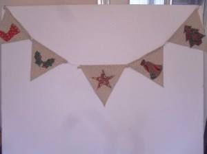 Christmas Bunting Winter Special Sewing Patterns Full Tutorial
