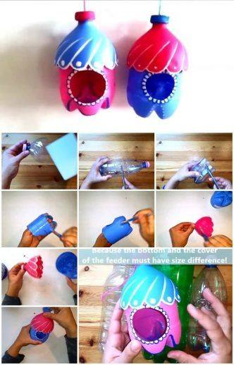 Step by Step Tutorial : Creative Use of Plastic Bottle