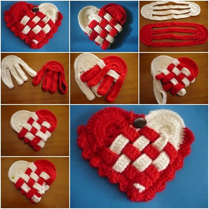 DIY : Heart Shaped Crafts Step by Step Tutorial Heart Shaped Crafts Step by Step Tutorial