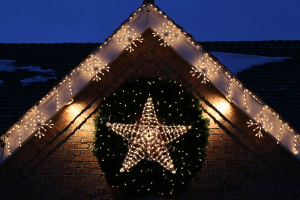 3d-lighted-led-star-wreath DIY : Learn to Make Christmas Paper Star Lights for Tree Decoration (Tutorial)