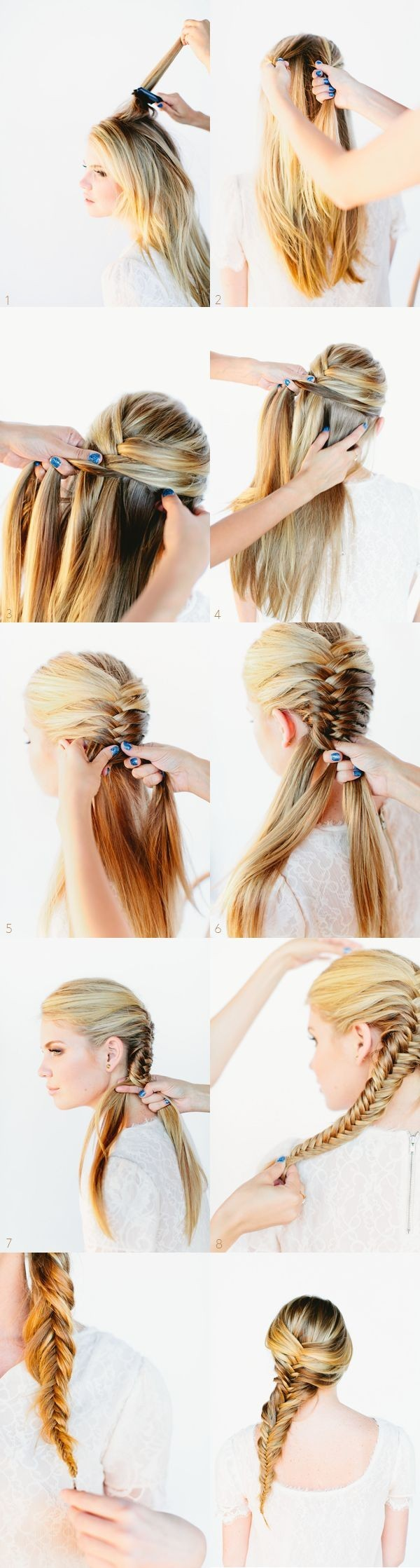 Braided-Hairstyles-Ideas-Messy-Side-Braids-Tutorial Hair Styling For Girls Step By Step Tutorial Part