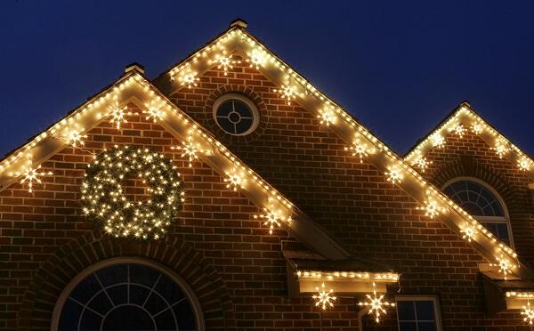 christmas-home-lighting-ideas Christmas Home Lighting Decoration Ideas