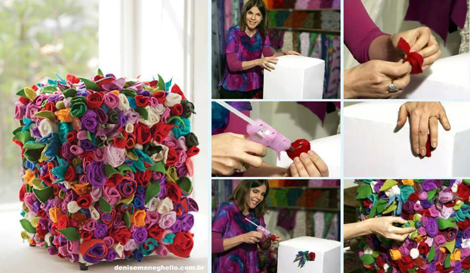 diy-patchwork-decoration Holiday Decoration Patchwork Ideas - Step by step