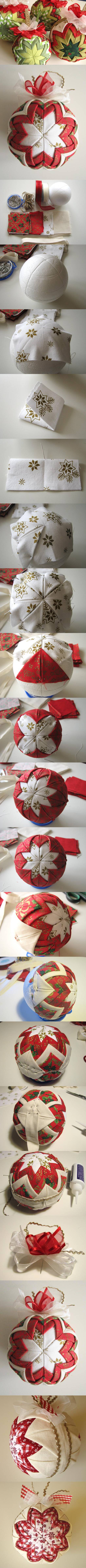 diy-patchwork-for-christmas Holiday Decoration Patchwork Ideas - Step by step