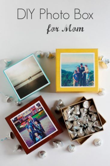 diy-photo-box-to-make-for-mom Holiday Simple Gift Giving Ideas Kids Can Make