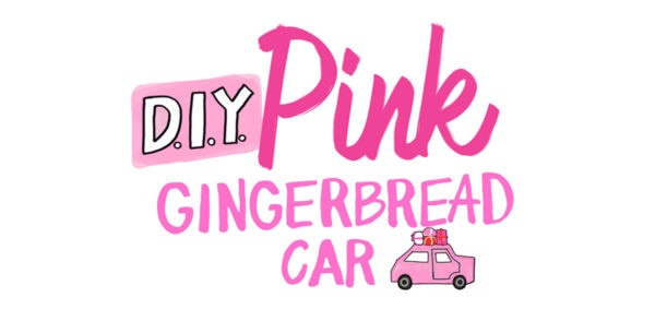 diy-pink-gingerbread-car-tutorial-Birthday Special : How To Make Pink Gingerbread Car (Step by Step Tutorial)