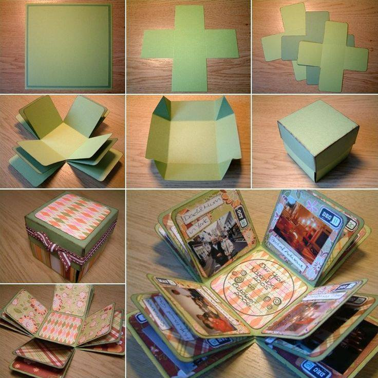 love-box-card DIY:Exploding Love Box Birthday Card Easy Handmade Card for Birthday