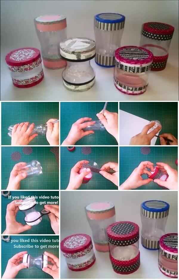 how-to-make-plastic-bottle-gift-tube DIY Step by Step Plastic Bottle Crafts Ideas