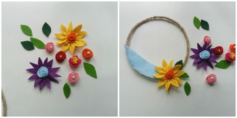 how-to-make-flowers-using-felt DIY : Learn to Make Beautiful Flower Using Felt