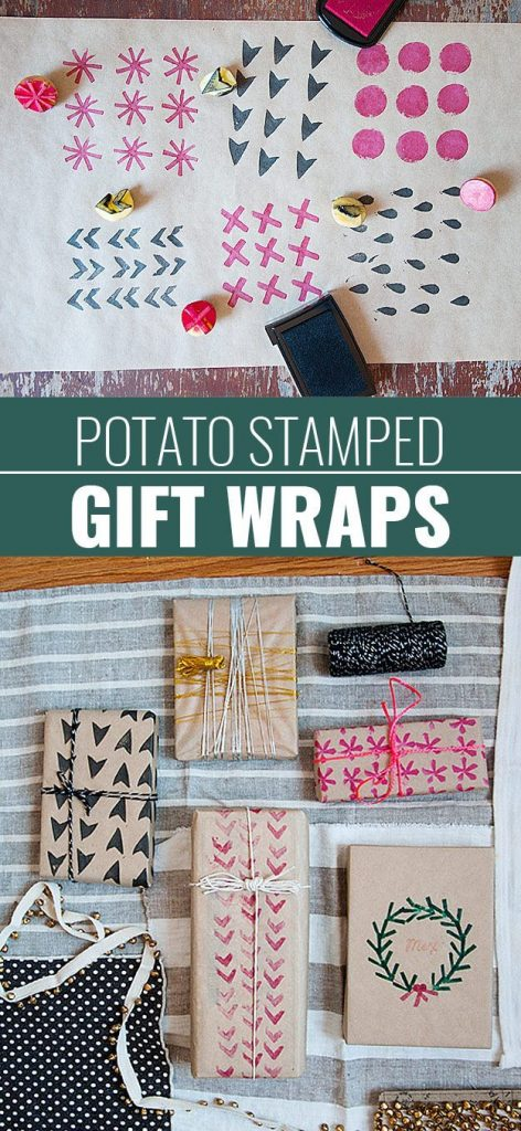 Beautiful patterned step by step gift wrapping Simple Step by Step Gift Wrapping Tutorials