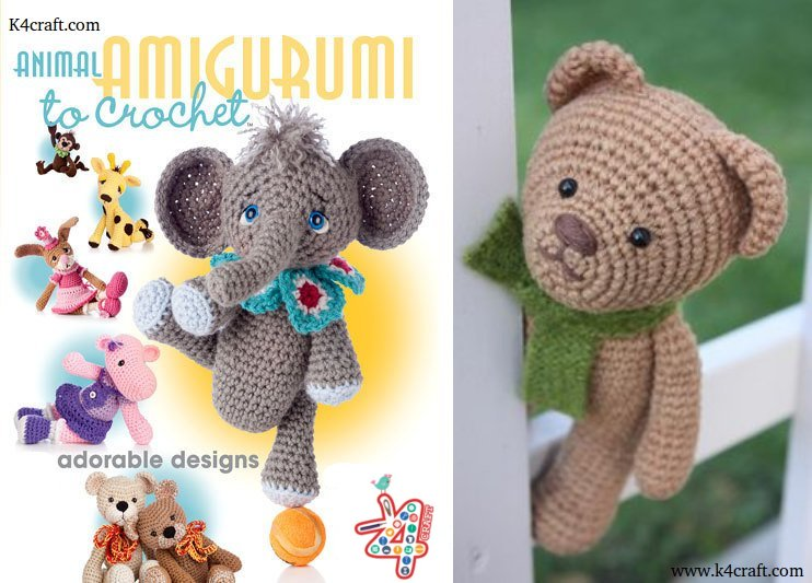step-by-step-crochet-amigurumi-patterns-animals/ Creative Easy Craft Ideas For Sewing Toys