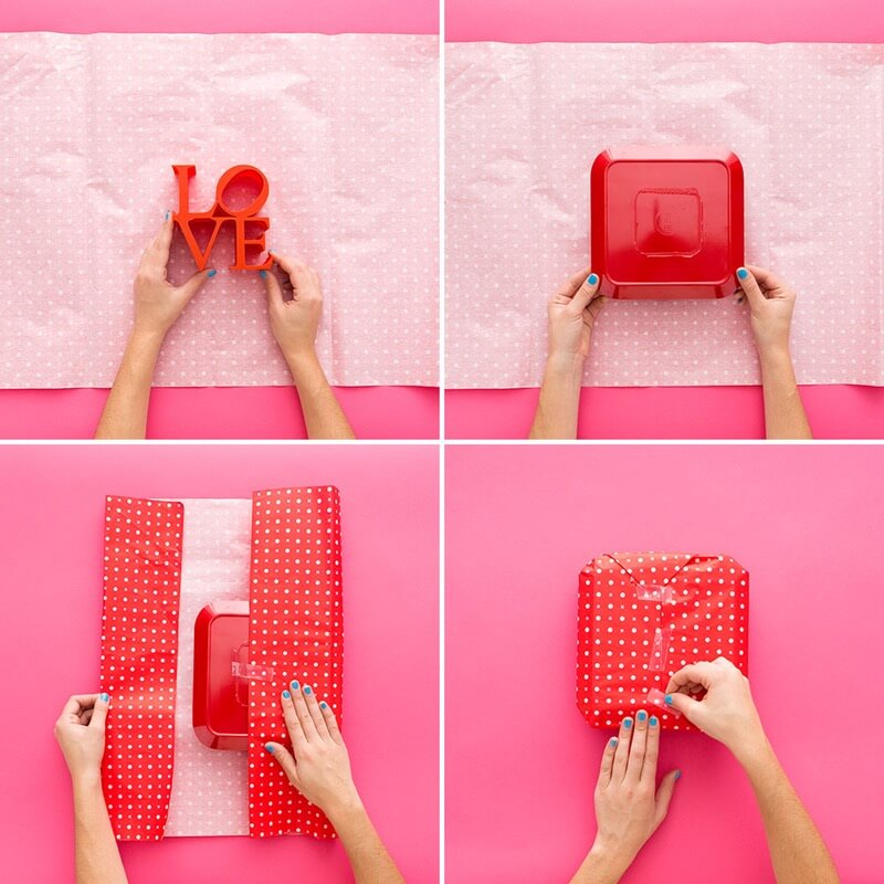 step Genius Tricks for Gift Wrapping - Step by step Ideas