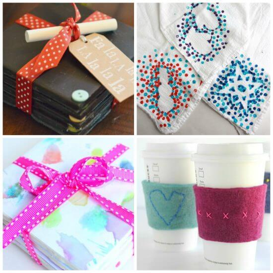 Combine ideas Holiday Simple Gift Giving Ideas Kids Can Make