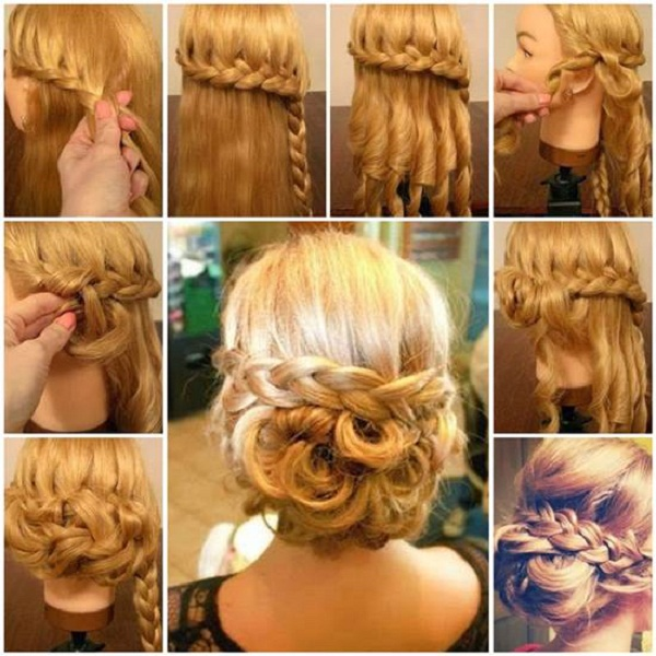 Hair Styling For Girls Step By Step bride Hair Styling For Girls Step By Step Tutorial Part